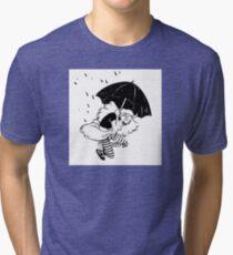 umbrella falling Tri-blend T-Shirt