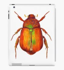 Iridescent Dune Chafer Beetle iPad Case/Skin