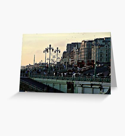 Downtown Brighton © Greeting Card