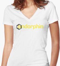 Endorphin Genesis Women's Fitted V-Neck T-Shirt