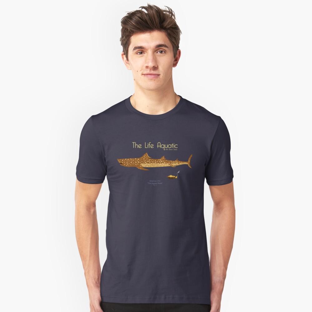 Camiseta unisexThe Life Aquatic - Jaguar Shark Delante