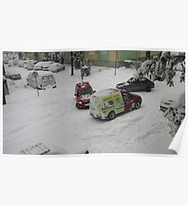 Winter in my street - 3 Poster