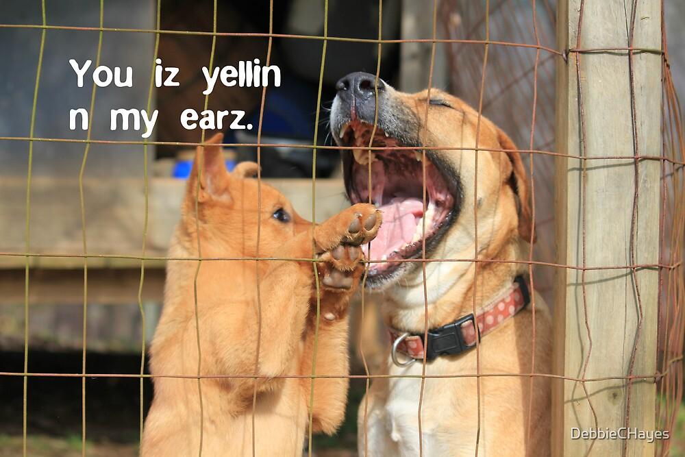 You Iz Yellin N My Earz by DebbieCHayes