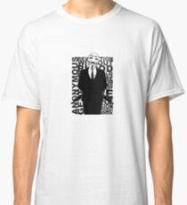 Anonymous revolution without blood ? 2 Classic T-Shirt
