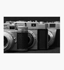 35mm. film trio Photographic Print