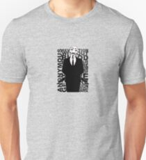 Anonymous revolution without blood ? small 1 Unisex T-Shirt