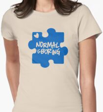 Normal Is Boring, Autism Awareness T-Shirt