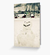 Grin Greeting Card