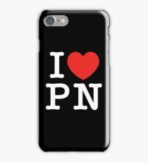 I Love Panem (for dark tee's) iPhone Case/Skin