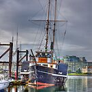 Replica of SS Beaver in HDR, Victoria, British Columbia by Barb White