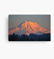 Mount Rainier at Sunset Canvas Print