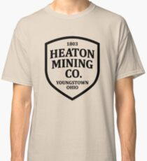 Heaton Mining Co. (alt. version) - Inspired by Springsteen's 'Youngstown' (unofficial) Classic T-Shirt