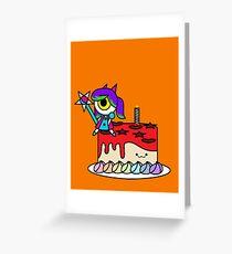 Wacky Cake Greeting Card