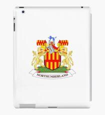 Northumberland coat of arms iPad Case/Skin
