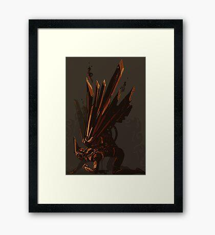 Fallen Valkyrie Framed Print