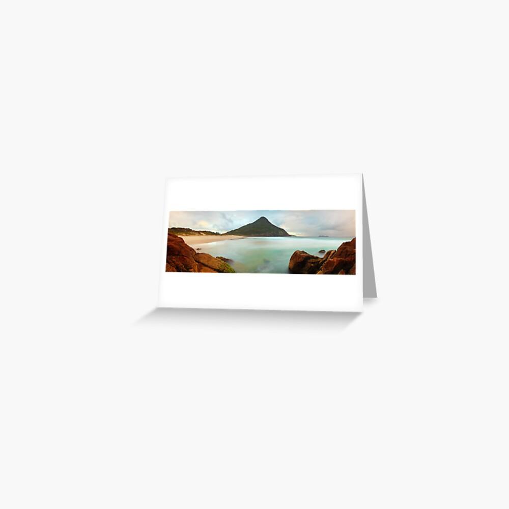 Zenith Beach, Shoal Bay, New South Wales, Australia Greeting Card