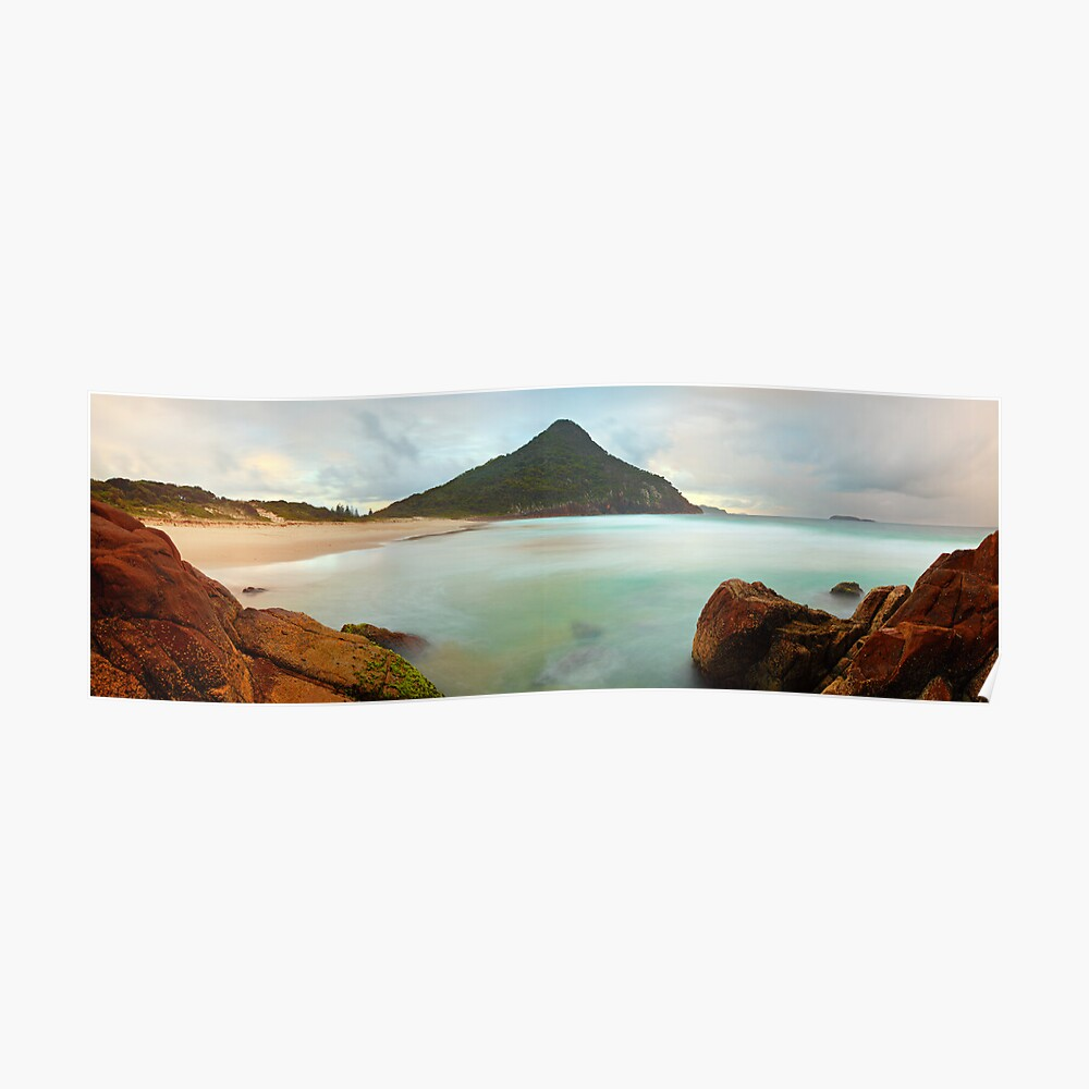 Zenith Beach, Shoal Bay, New South Wales, Australia Poster