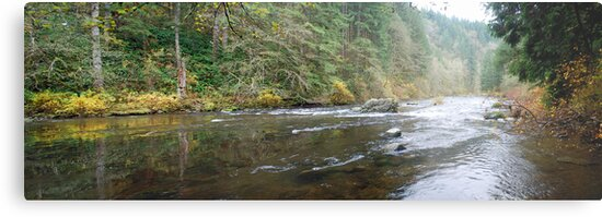 Lewis River Panorama by North22Gallery