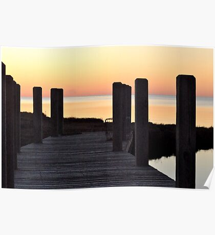 Salvo Sunset Poster