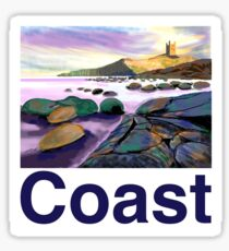 Northumberland rocks Sticker