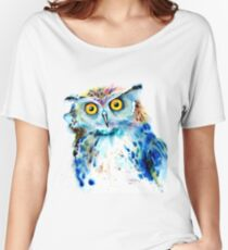"""Owl"" Women's Relaxed Fit T-Shirt"