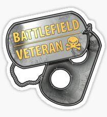 Battlefield Veteran Sticker