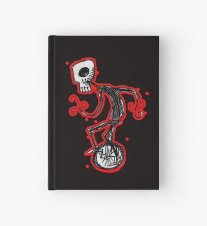cyclops on a unicycle Hardcover Journal