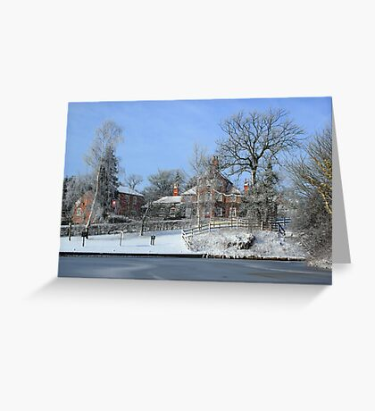 The White Swan Hotel Greeting Card