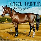 HORSE PAINTINGS  by Kay Sparks by WildestArt