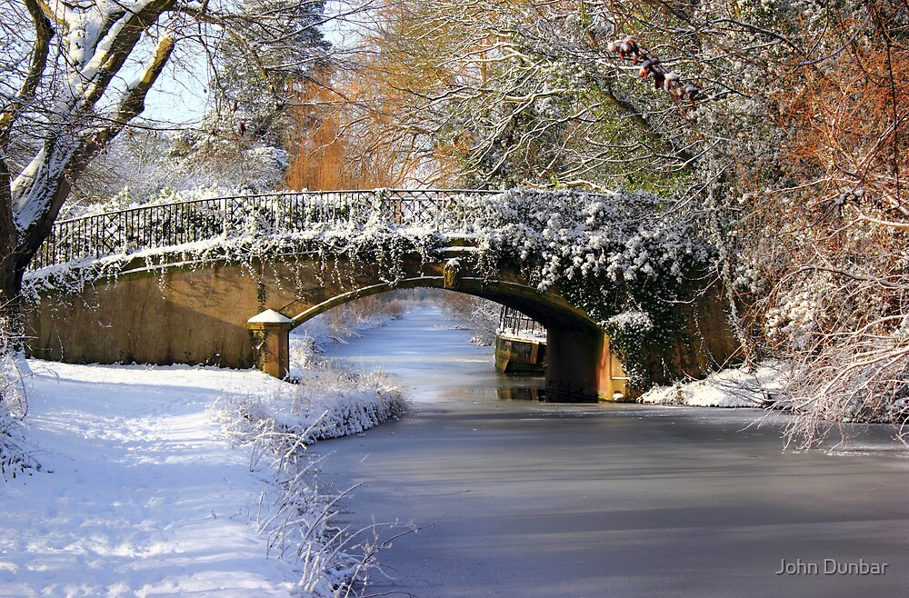 Winter at Lady's Bridge by John Dunbar