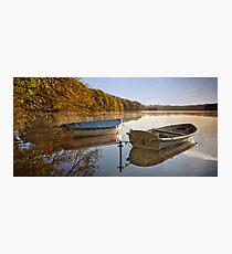 Boats at Hald Photographic Print