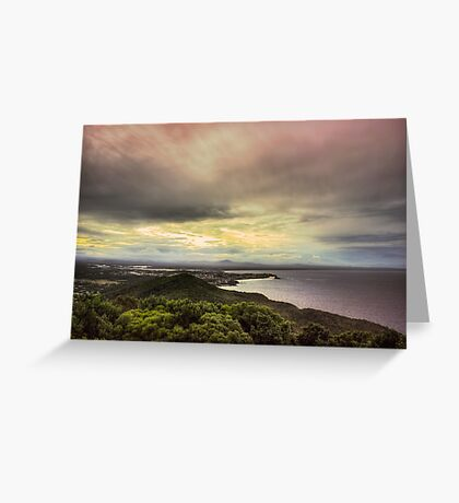 Forster Sunset Rainbow Greeting Card
