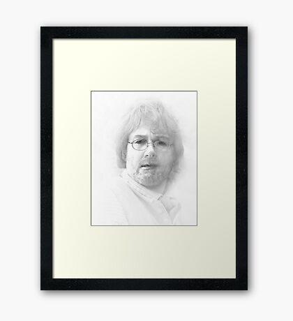 Incredulous Framed Print