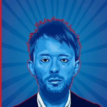 Thom Yorke by tmhoran