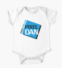 Pixel Dan Logo One Piece - Short Sleeve
