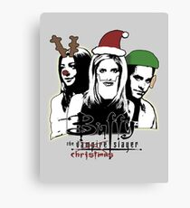Buffy the Christmas Slayer! Canvas Print