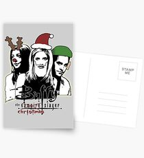 Buffy the Christmas Slayer! Postcards