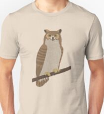 Abstract Owl Unisex T-Shirt