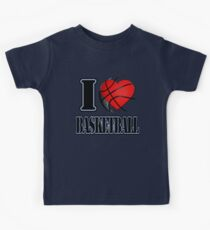I love Basketball T-shirt Kids Tee