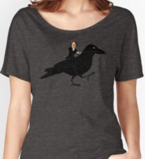 Poe and Raven Women's Relaxed Fit T-Shirt