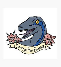 Inspirational Dinosaur Photographic Print