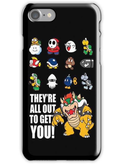 """""""They're All Out To Get You!"""" Mario Characters Design by TalkThatTalk"""