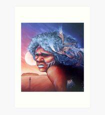 Aborigine Dreams Art Print