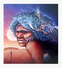 Aborigine Dreams Photographic Print
