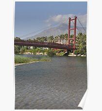 Puerto Banus bridge Poster