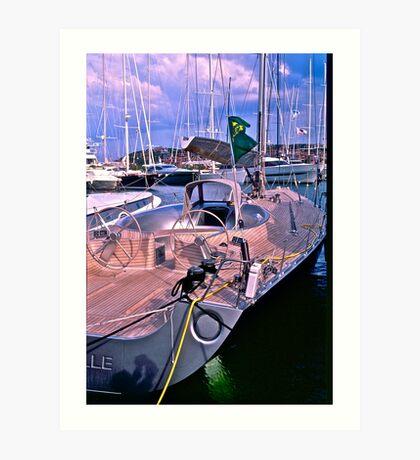 5 ★★★★★ . One day at Costa Smeralda . Porto Cervo. Sardegna . Bella Italia. by Brown Sugar. Views (200) grazie amici ! Art Print