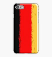 Germany flag grunge  iPhone Case/Skin