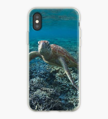 Serious turtle iPhone Case