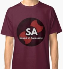 Sound Of Awesome Logo Classic T-Shirt