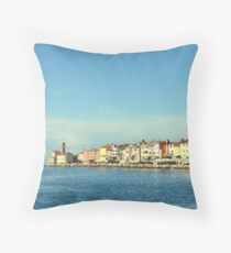 Piran. Throw Pillow